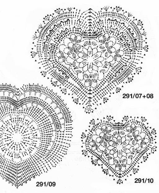 Тем более схемы сердечек можно использовать для вязания вот такой шкатулки. Вязаная крючком. вязаные сердечки