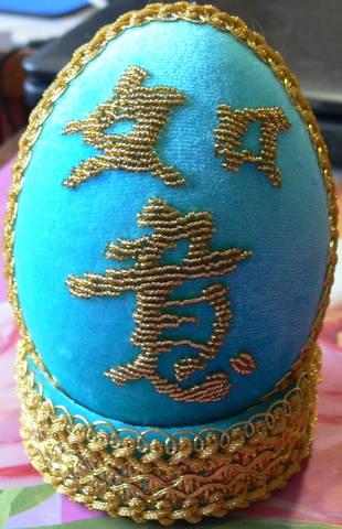Яйца ручной работы.