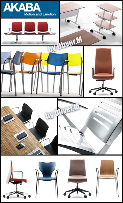 3D models of Furniture Akaba