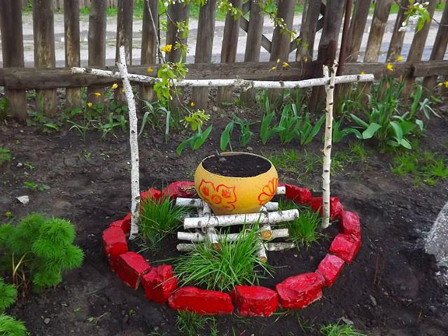 Идеи для огорода своими руками из бутылок 119