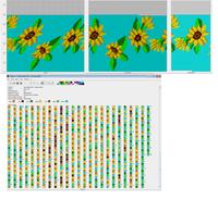 подсолнухи 80 3 цветка