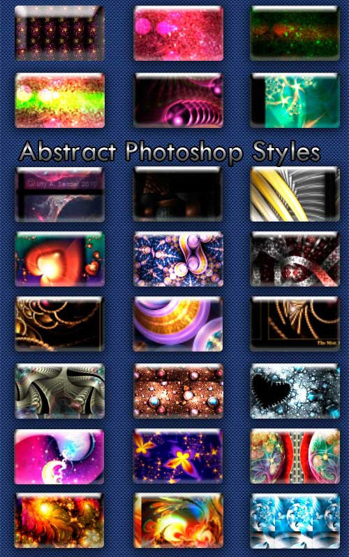 Abstract Styles for Photoshop