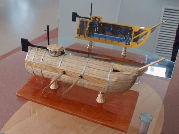 первая русская лодка никонова
