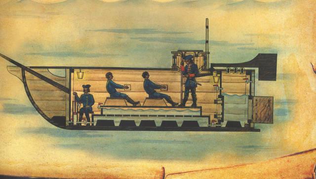 изобретатель первых подводных лодок