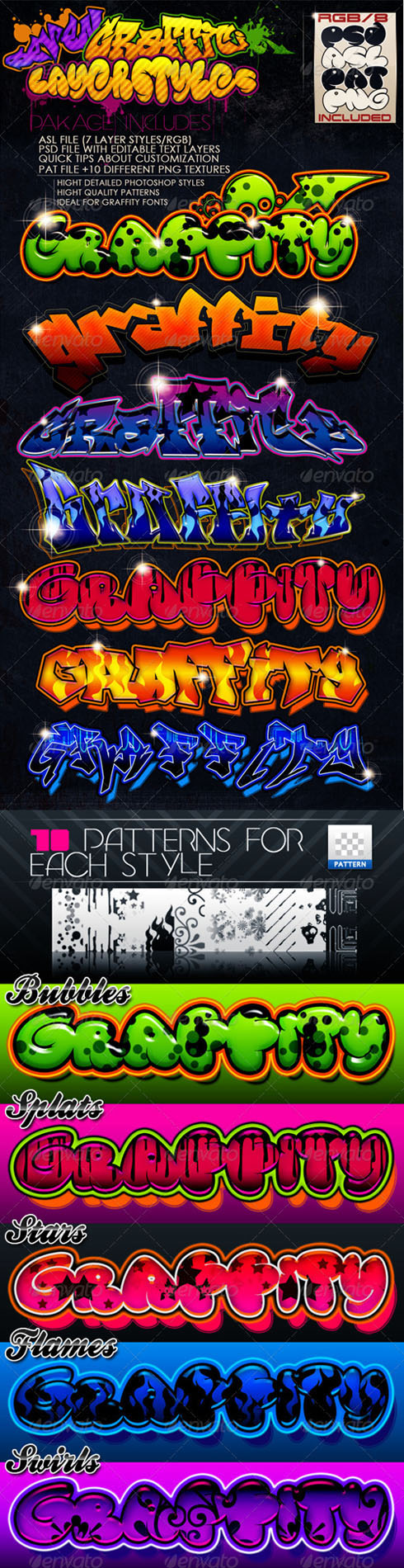 GraphicRiver - Graffiti Styles for Photoshop