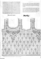 схемы и модели филейного вязания