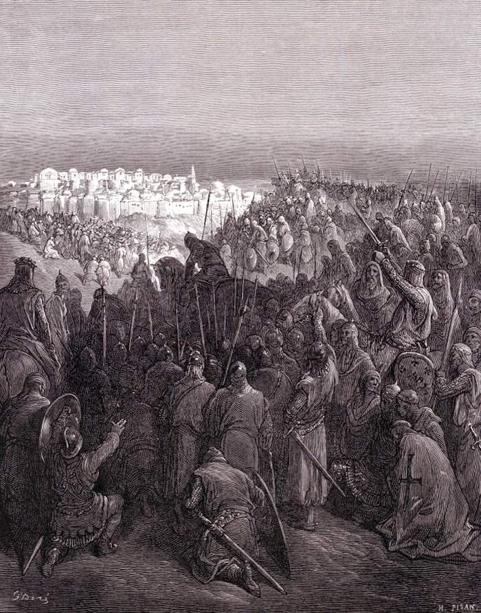 a view on the siege of jerusalem in the history