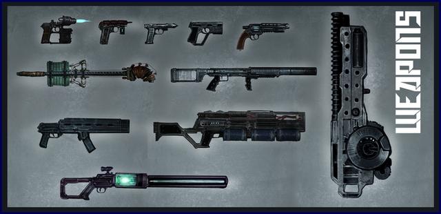 Frozen State - оружие