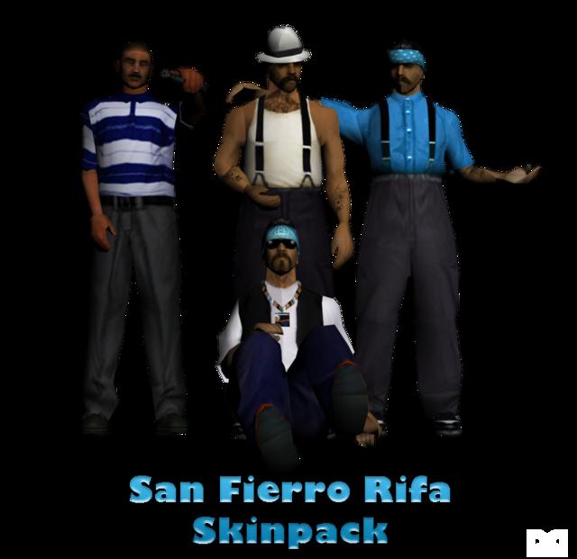 Скачать Скин Samp Rifa - фото 9