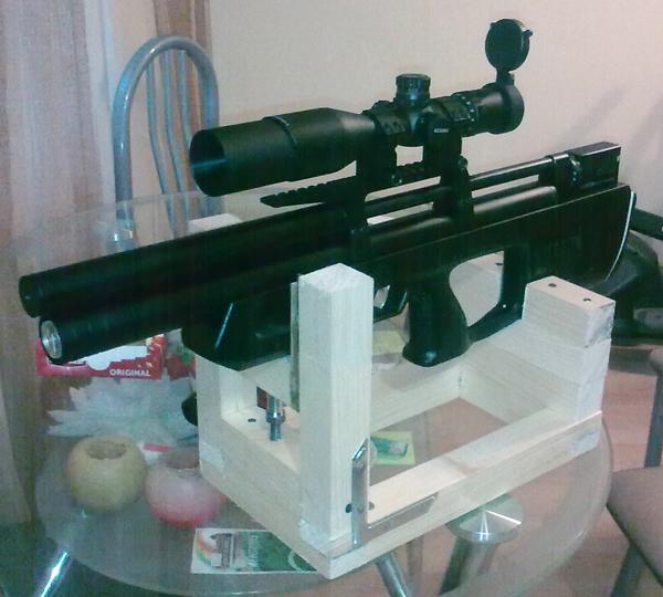 Как сделать пристрелочный станок своими руками