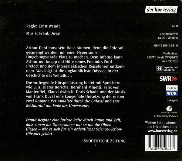 "Douglas Adams - ""Per Anhalter Durch Die Galaxis"" (Audiobook) 2690237_m"