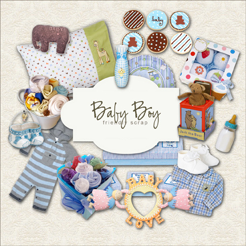 Scrap kit - My Baby Boy