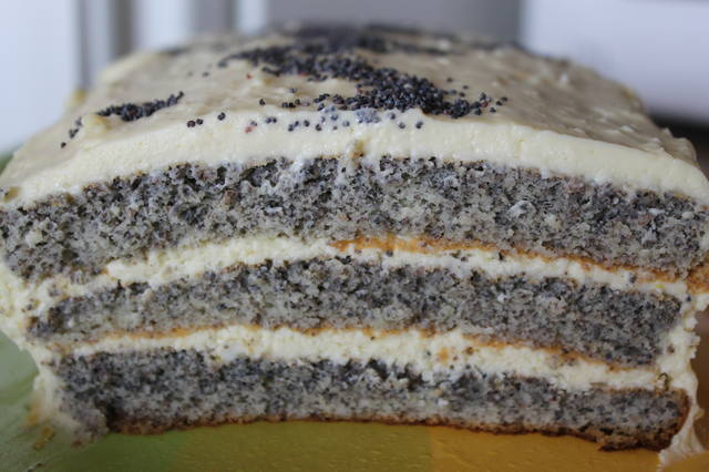 Торт со сливочно лимонным кремом рецепт фото