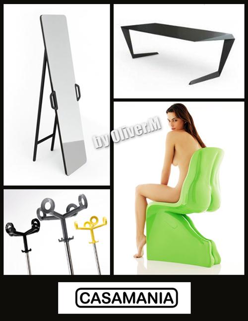 3D models of Furniture Casamania