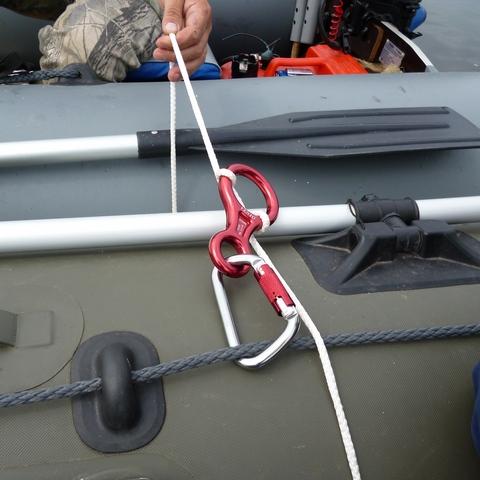 какие веревки на лодку пвх