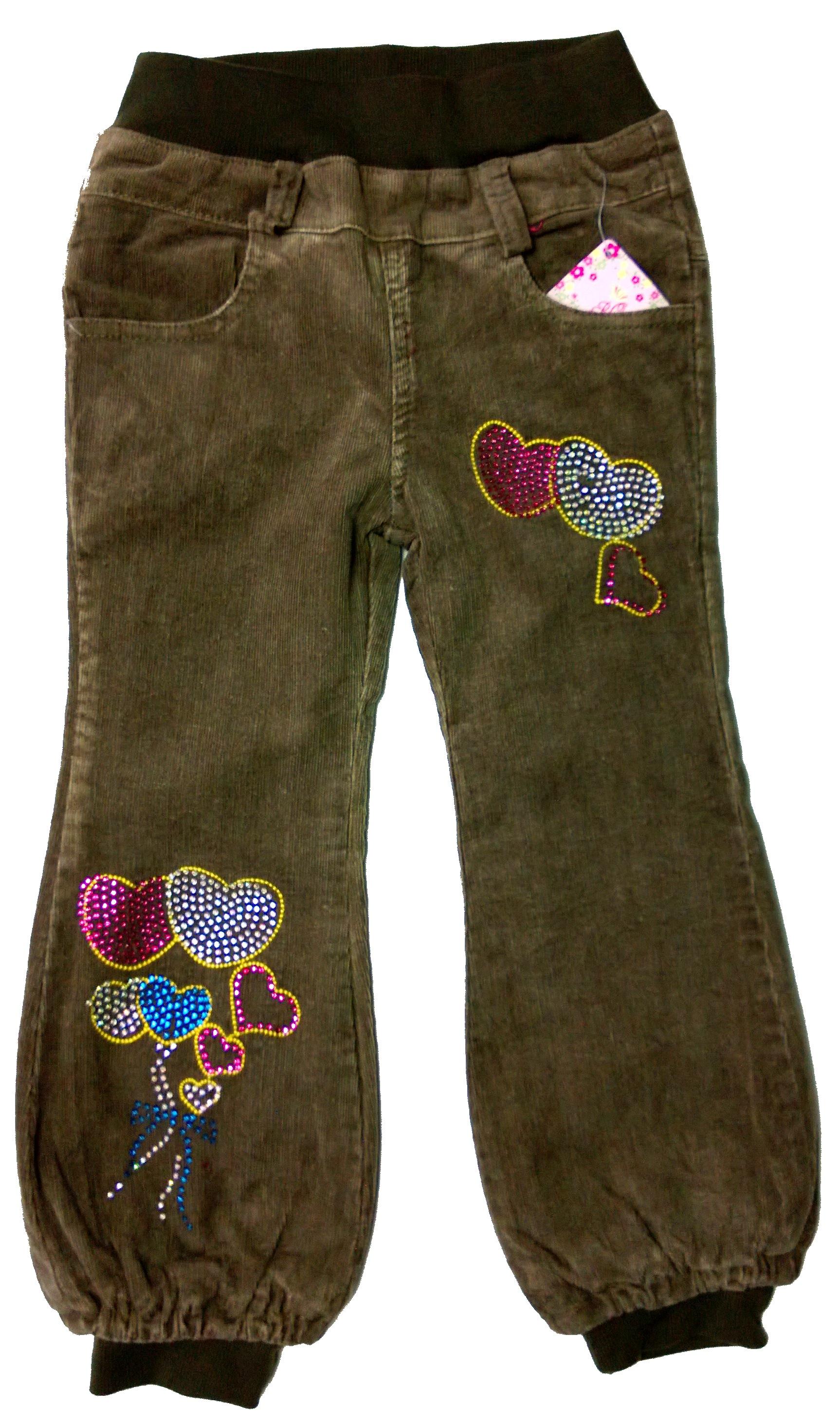 Детские утепленные штаны для девочки своими руками