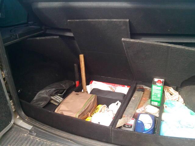 Нива Клуб - Органайзер в багажник Нивы 44