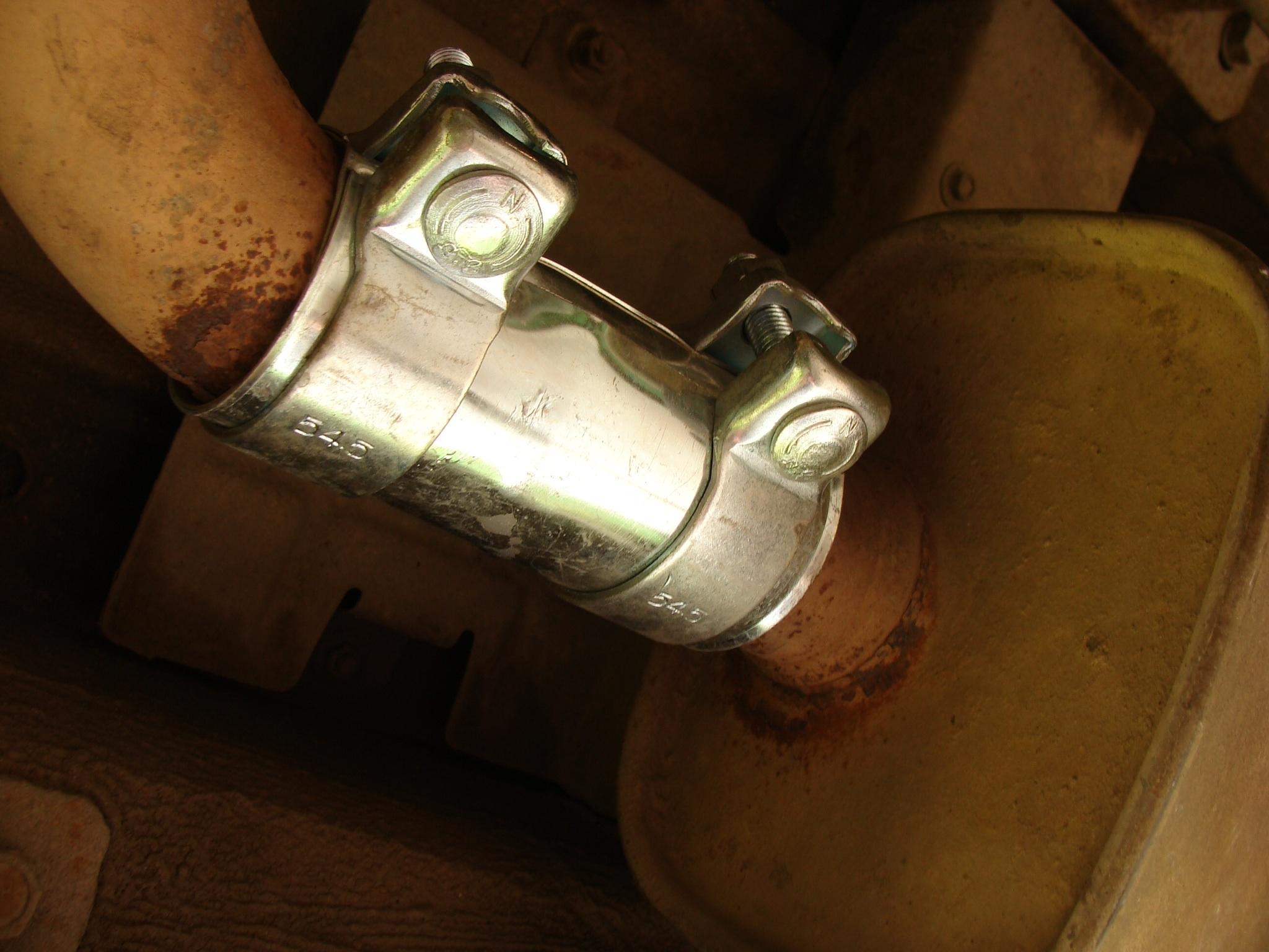 Нива шевроле ремонт глушителя