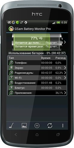 GSam Battery Monitor Pro v.2.43