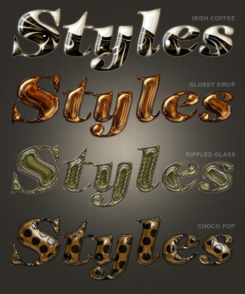 Photoshop Styles Pack 8