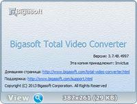Bigasoft Total Video Converter 3.7.48.4997 Rus Portable by Invictus