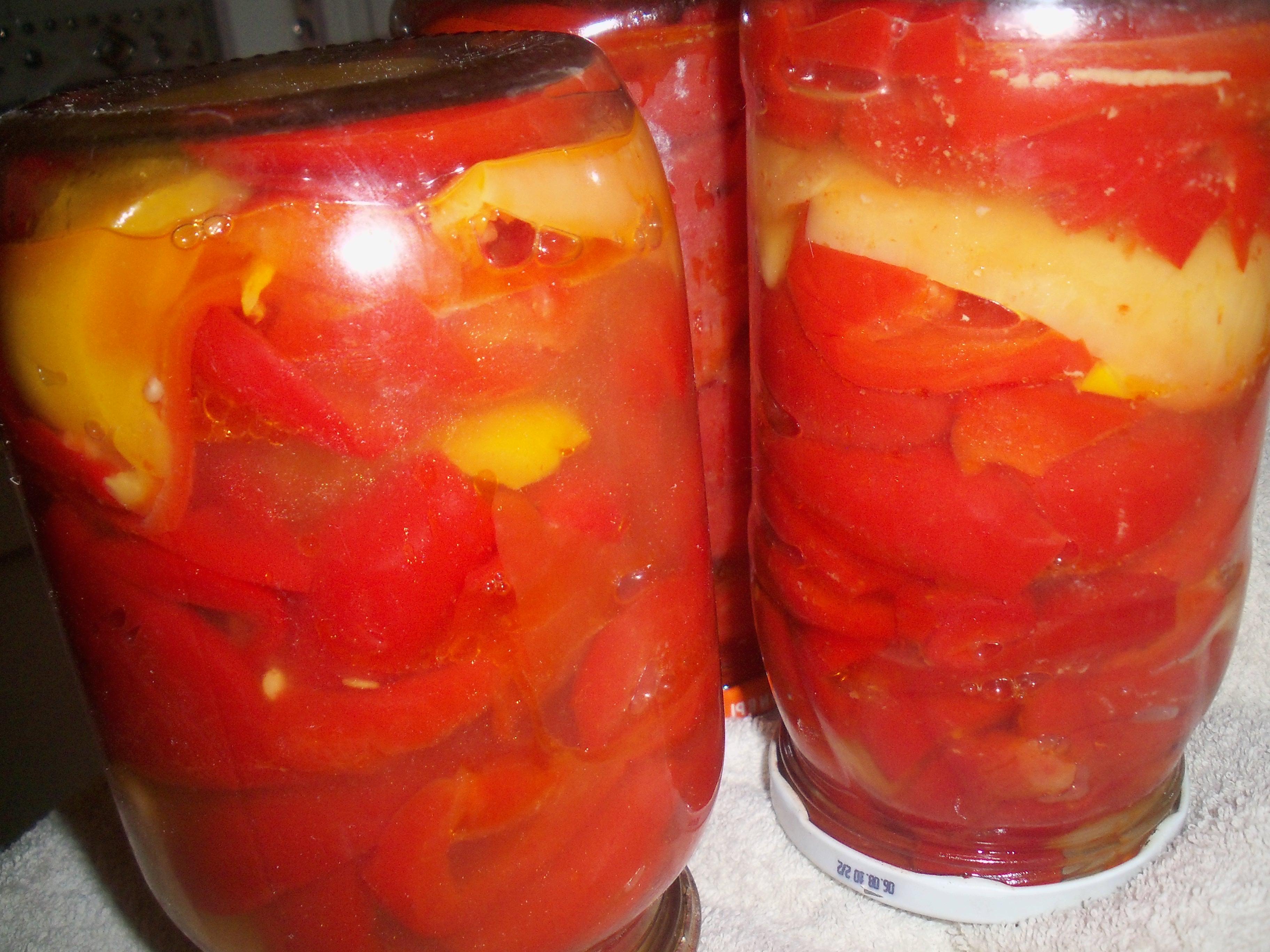 Рецепт маринованный перец болгарский на зиму рецепты пошагово