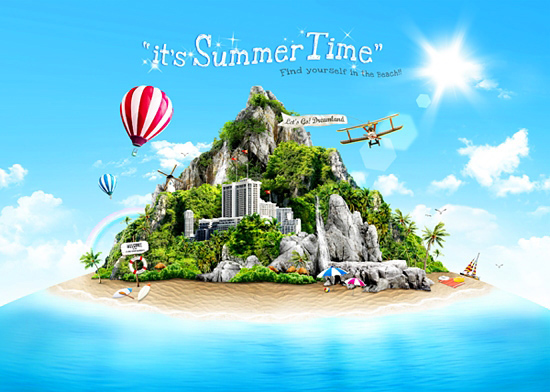 PSD source - Summer Time