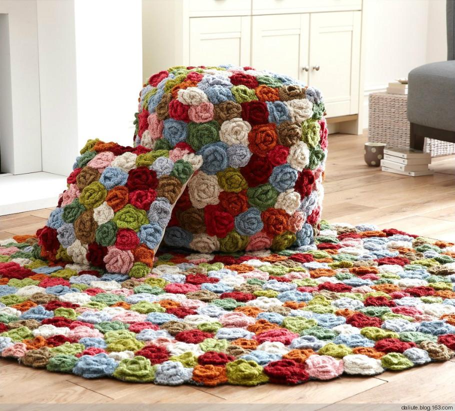 Вяжем коврики своими руками для дома