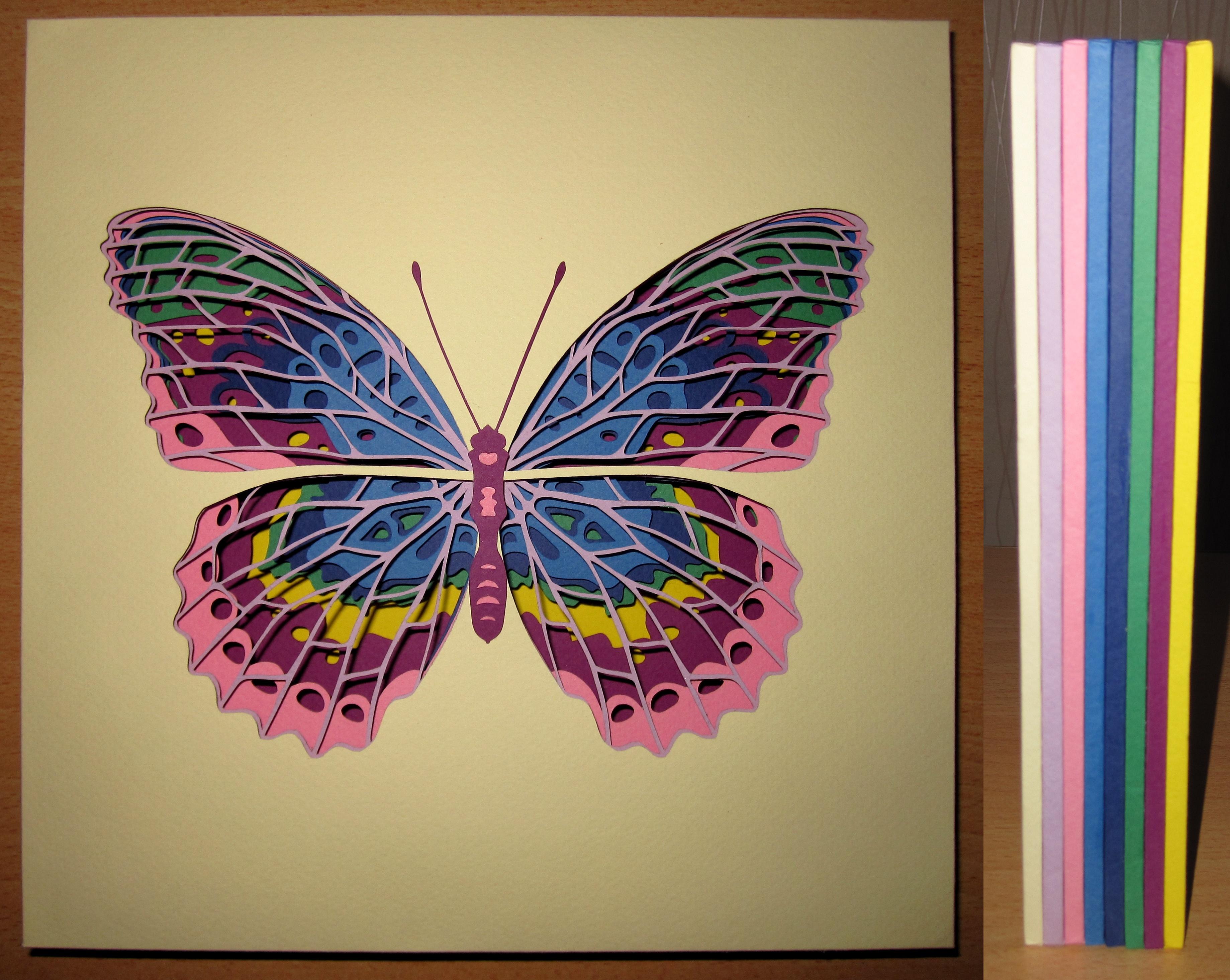 Поделки бабочек своими руками 62