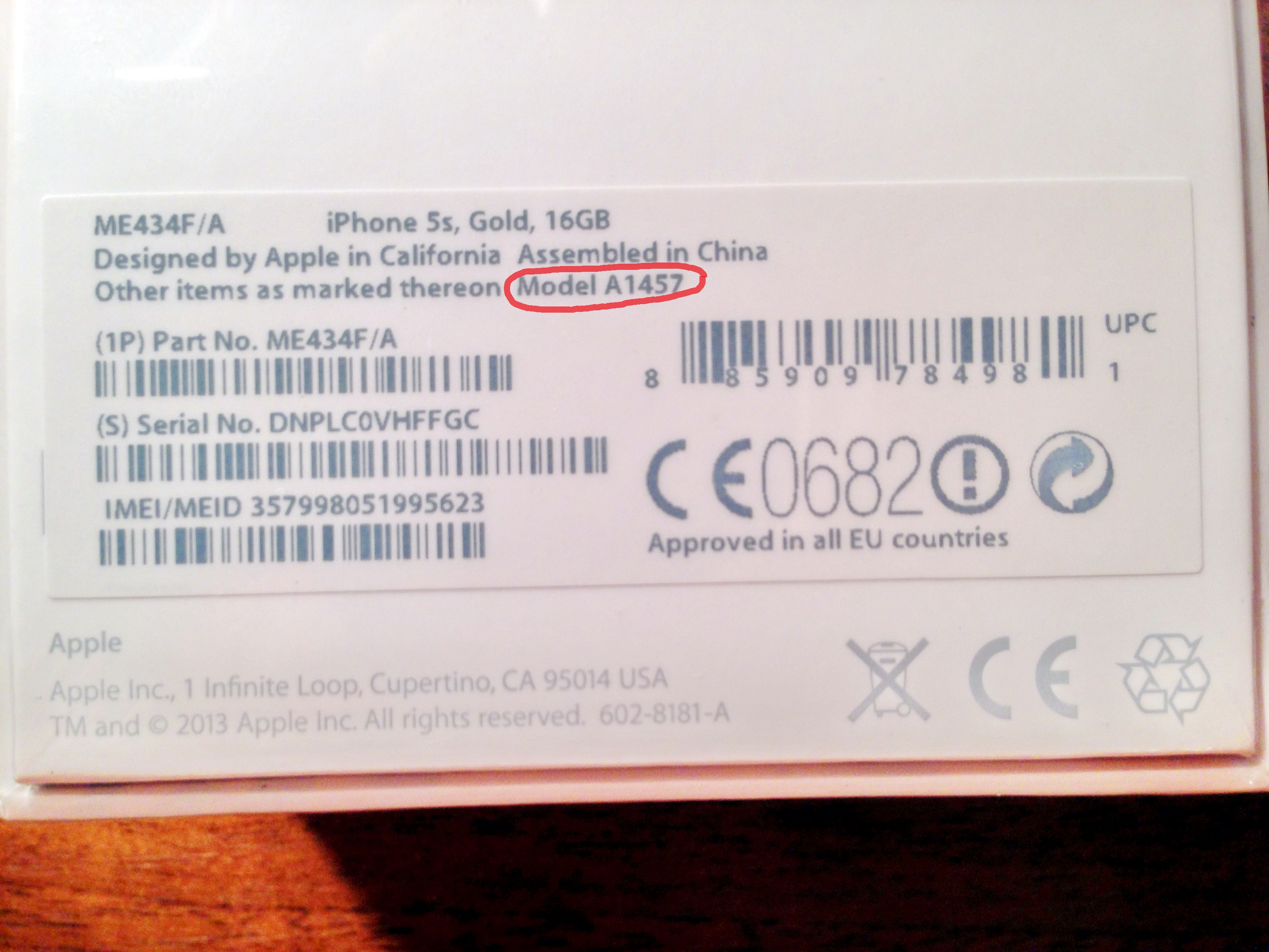 Как сделать наклейку на коробку для iphone