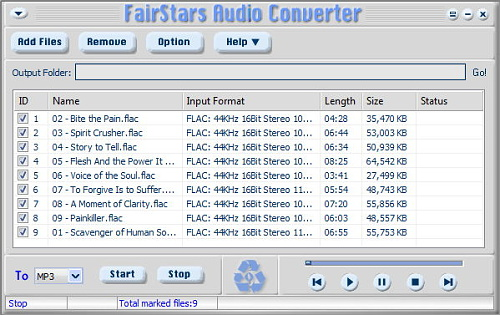 FairStars Audio Converter 1.97 Portable by Invictus