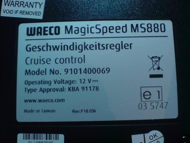 установка waeco magicspeed ms-880 на ford fusion