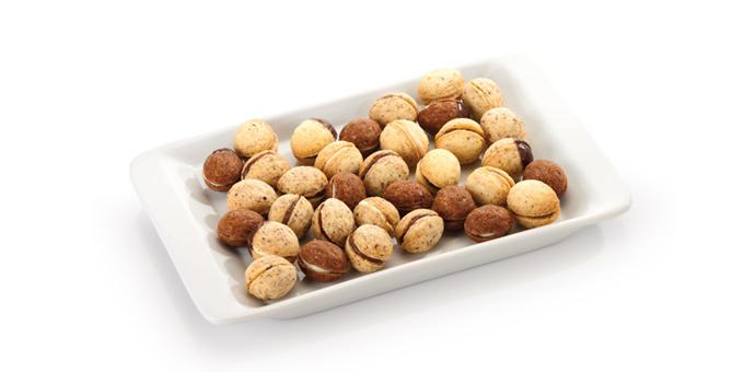 Силиконовая форма для выпечки орешков DELICIA SILICONE