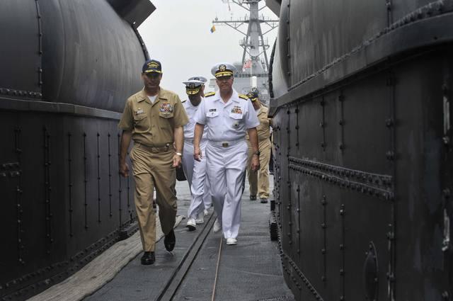 ядерные подводные лодки кндр