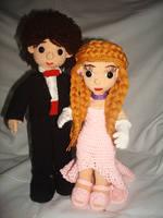 Связанные крючком куклы девочки