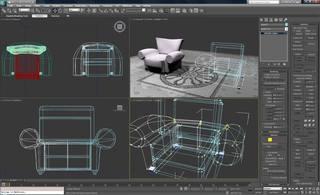Autodesk 3D Max Studio 2011.