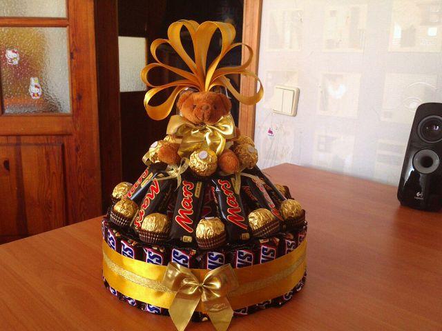 Подарки из конфет и шоколада своими руками