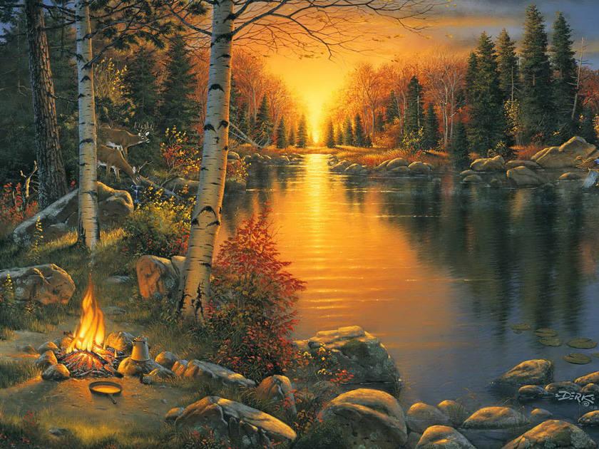 Современная живопись - Разное 3548090_m