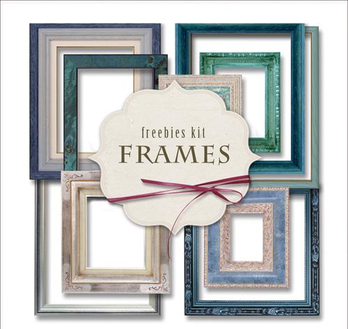 Scrap kit - Collection of Vintage Frames 6