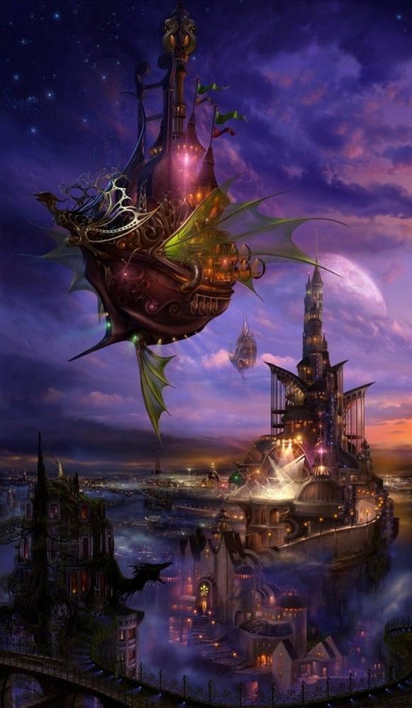 Живопись на тему фантастики, фэнтези, сказки, сюрреализма 3573171_m