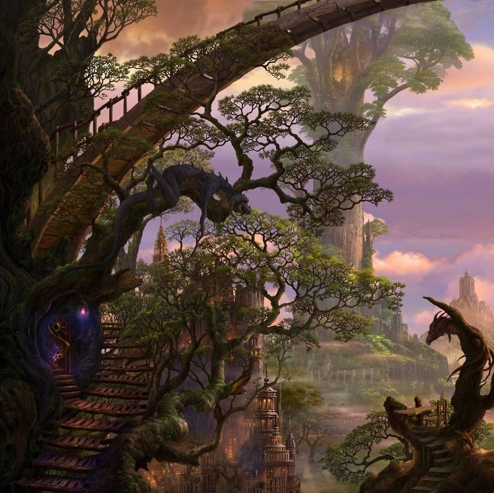 Живопись на тему фантастики, фэнтези, сказки, сюрреализма - Страница 2 3573222_m