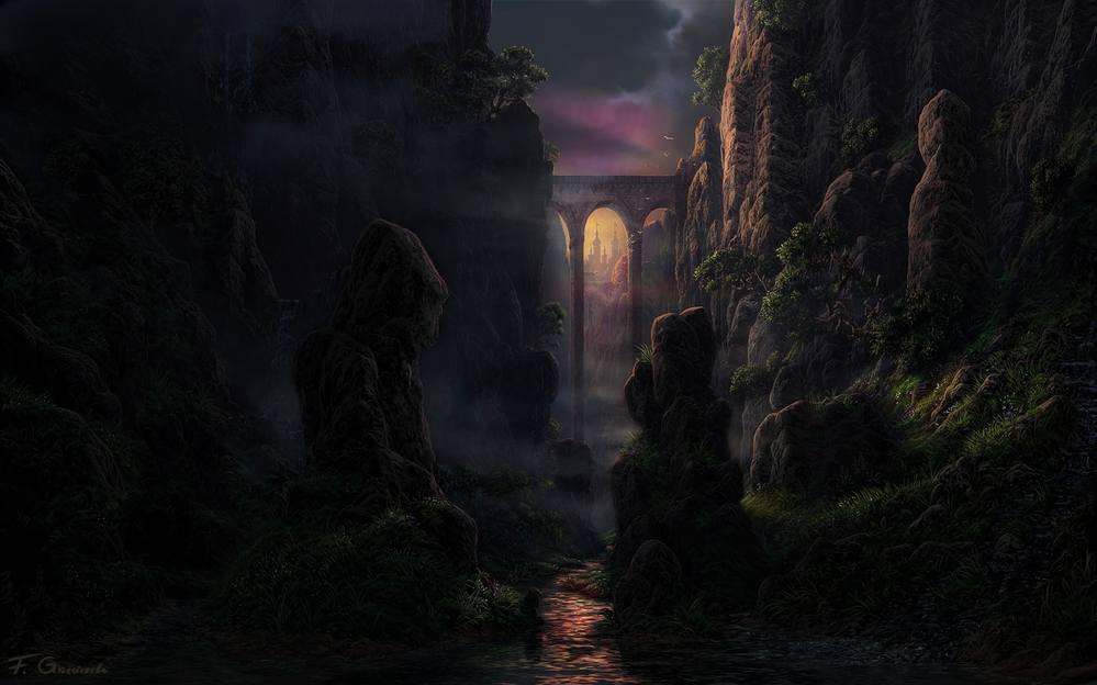 Живопись на тему фантастики, фэнтези, сказки, сюрреализма - Страница 2 3573259_m