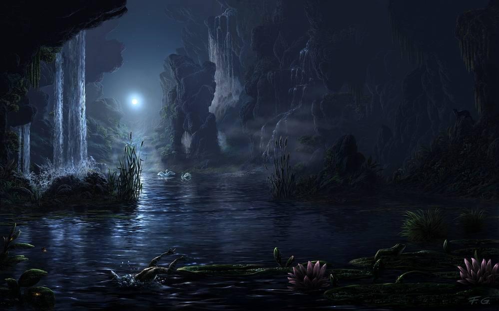 Живопись на тему фантастики, фэнтези, сказки, сюрреализма - Страница 2 3573267_m