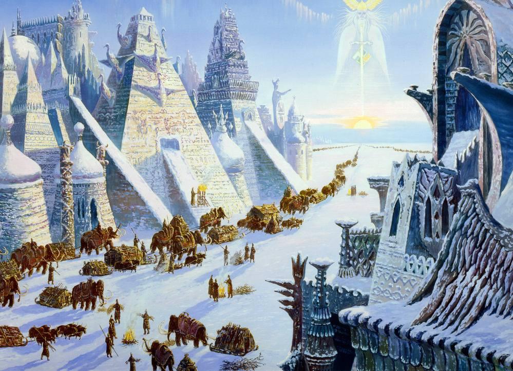 Живопись на тему фантастики, фэнтези, сказки, сюрреализма - Страница 2 3679833_m