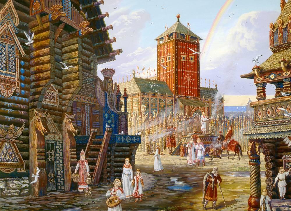 Живопись на тему фантастики, фэнтези, сказки, сюрреализма - Страница 2 3679840_m