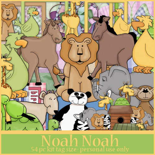 Scrap kit - Noah Noah