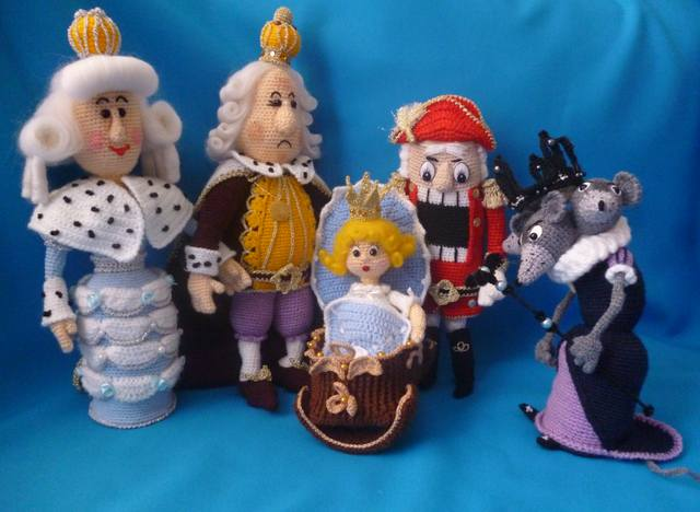 Новогодние персонажи игрушки своими руками