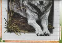 Вышивка бесплатные схемы без регистрации волки 5
