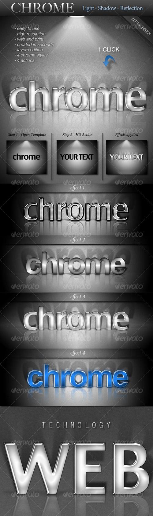 GraphicRiver - CHROME - Light, Shadow, Reflection