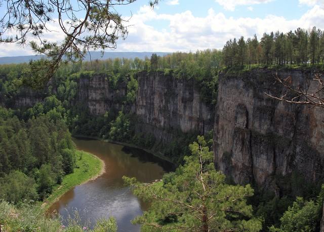 Река Уфа ниже Красноуфимска